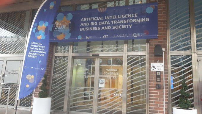 Continuamos en el #EBDV2019 con proyectos de #BigData y #AI de #AtosResearchandInnovation....