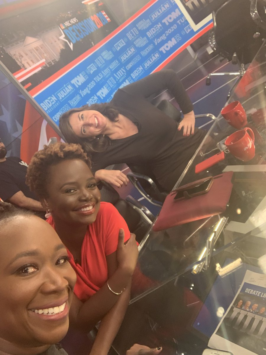 Thanks for tuning in for our late night (oh wait EARLY MORNING) post-#DemDebate adventures on @MSNBC !