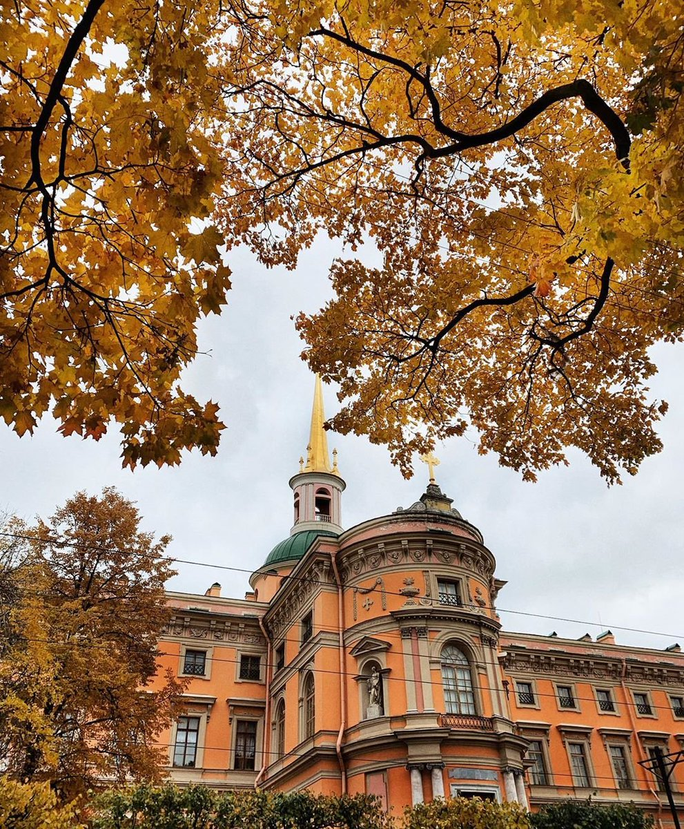 Михайловский замок открытка, алма-аты картинка прикол