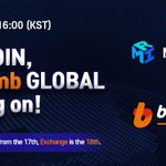 Image for the Tweet beginning: 🌍 MIRCOIN Bithumb GLOBAL Listing