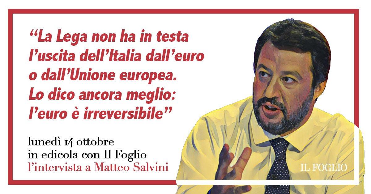 RT @SenCicerone: Dedicato ai sovranisti che ancora credono che la #Lega di #Salvini voglia uscire dall'euro. Auguri. https://t.co/A5yMyjr2EM