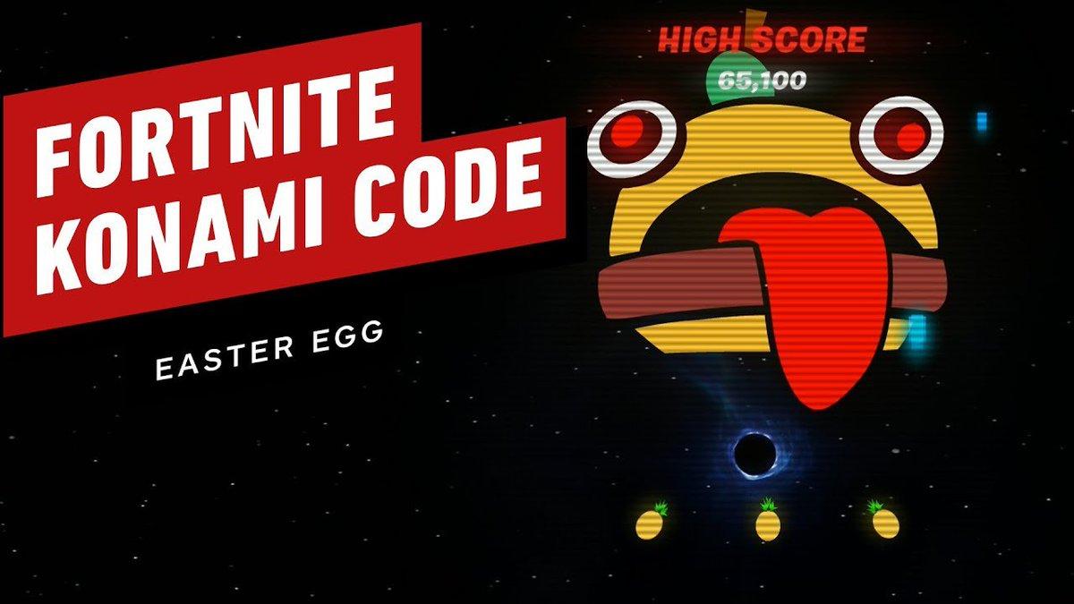 #Fortnite: nel buco nero c'è un minigioco sbloccabile con Konami Code! https://is.gd/OvyRfS #BucoNero #EpicGames #Stagione11 #nerdpoolpic.twitter.com/RS02i0Ya2H