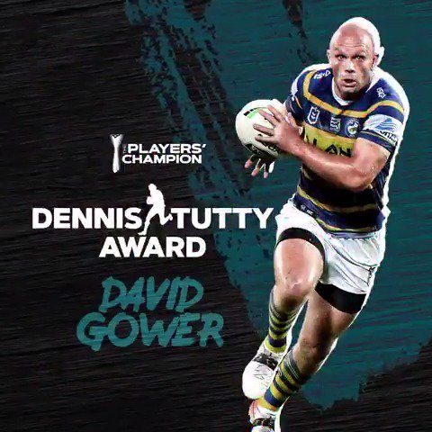Very humbled to be recognised for this award. Thank you @RLPlayers and congrats to all the other award winners. 👏🏻