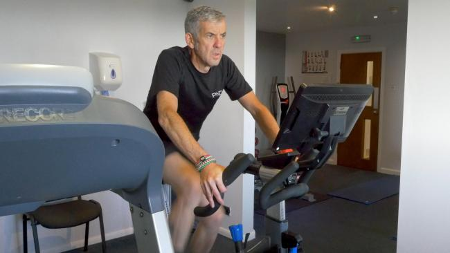 I am very keen to go the extra miles to make a difference for the hospice in my very own way. 24 hours. 1 enormous challenge. Steve is attempting a world record for a Duathlon later this month for @StKentigern: denbighshirefreepress.co.uk/news/17965406.… #hospice #fundraising