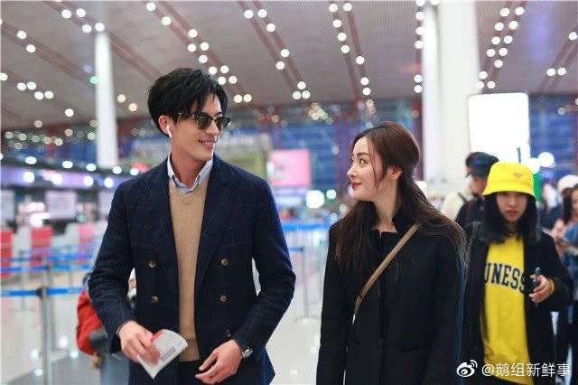 20191013 #ZhangTianai & #XuKaiCheng spotted at Beijing Airport  They just look so cute together   Can't wait for 《#YoungAndBeautiful》to air ASAP ㅠㅠ  #CrystalZhang #张天爱 #我的漂亮朋友pic.twitter.com/4Yyxbs8TDk