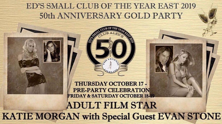 test Twitter Media - Next weekend! @ClubAlexs 50th anniversary party!! We'll be there Friday and Saturday nights two shows each night! See you there 💋 https://t.co/fSBaYZel4g