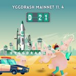 Image for the Tweet beginning: 🚀YGGDRASH MainNet D-21🚀  Join the airdrop