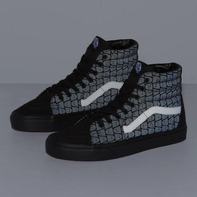 Ad: Vans Ghostly Sk8-Hi on sale for $52.50 + FREE shipping => bit.ly/2niEqfX