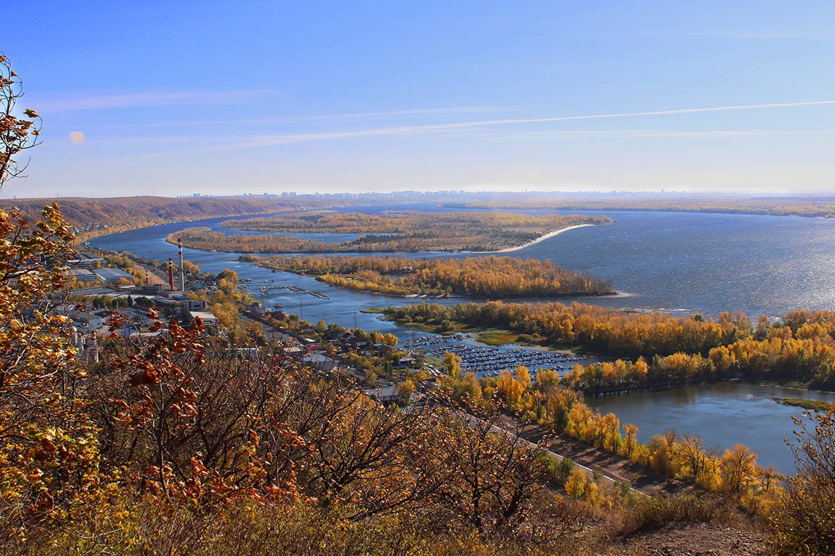 национальный парк самарская лука фото начале они