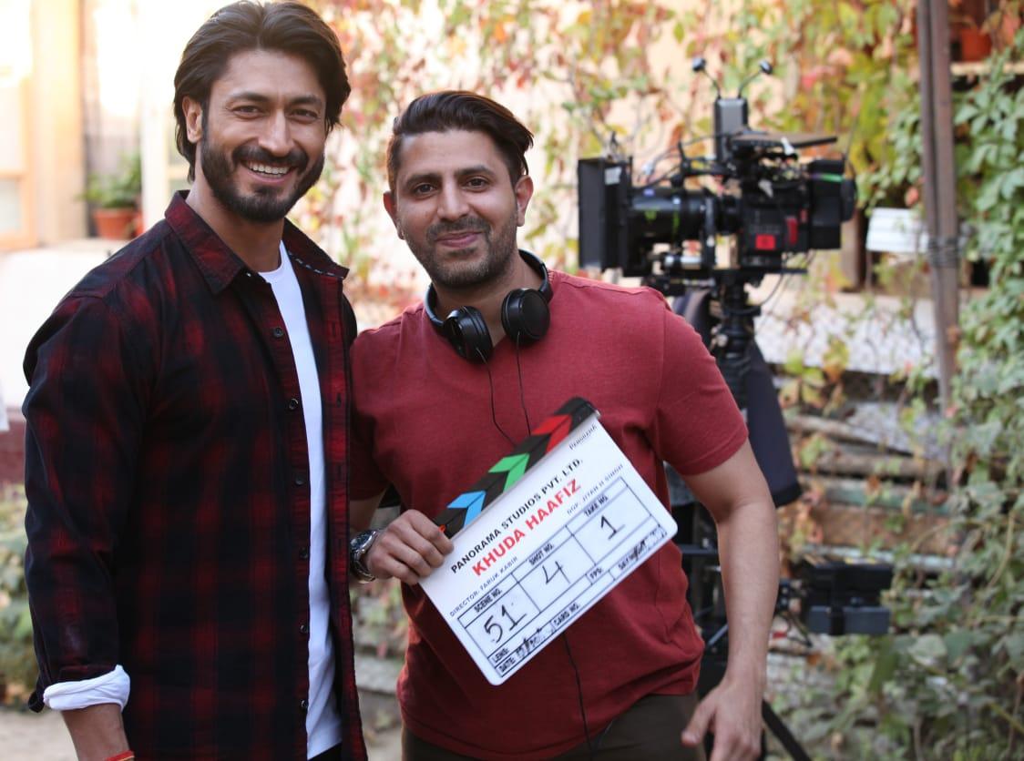 #Update: Vidyut Jammwal in #KhudaHafiz... Filming begins in #Uzbekistan... Directed by Faruk Kabir... Produced by Kumar Mangat Pathak and Abhishek Pathak... 2020 release.