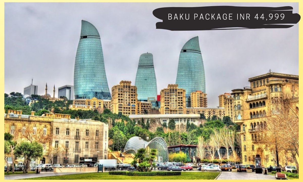 Who would be missing to visit this #beautiful destination if planning a holiday trip to #azerbaijan. Packages starting @ INR 44,999*.  #azstagram #instabaku #aztagrambaku #baku #aztagram #azerbaycan #bakustyle #baki #azeri #vscoazerbaijan #bakuljam #bakuriani #bakucity #vscobakupic.twitter.com/3AAIFkYbmE