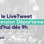 ▶️ Livetweet de la Session Départementale du @CD_CotedOr avec #SessionDep21 ➖ CC @Majorite21 @FX_DUGOURD @CharlesBarriere @C21Louis @PAChapuis @ManueCoint @VincentDancourt @ErschensA @LudovicRochette @DomaineParent @gdelepau