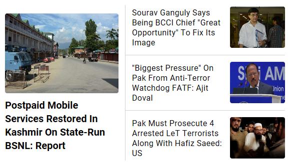 Top stories now on http://ndtv.com #NDTVTopStories