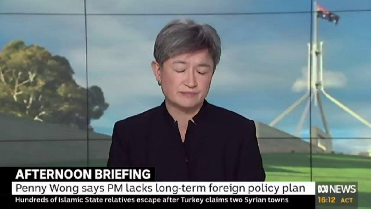 """Turkey is accountable for its actions… We call on Turkey to desist from this military action [in Syria]. The humanitarian consequences are there for all to see… But this action has been enabled by the decision of the Trump administration,"" @SenatorWong tells @PatsKarvelas"