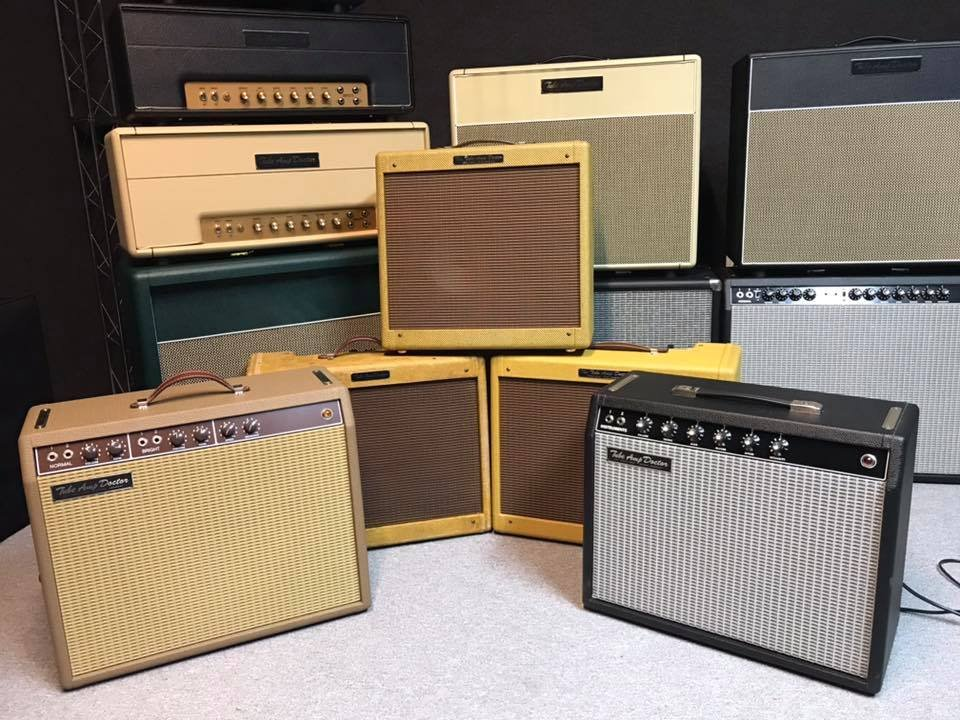 We're sending these beauties to Tonepedia to have them #tonecaptured! #tubeamps #TAD #theextraTADofTone #tubes #amps https://t.co/Xwzqu7EoDI