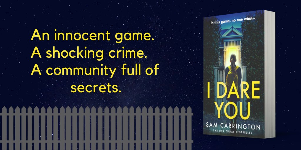 2 MONTHS TO GO until #IDareYou hits the shelves! #soexcited!  Had some lovely early #bookreviews: 'Wow. Did not see the ending coming...'  'Whoa...the ending... It really slammed into me and has left me rather wordless!'  Preorder:   https:// amzn.to/2LEVaZk      #PsychologicalThriller <br>http://pic.twitter.com/Nzi40HX5sr