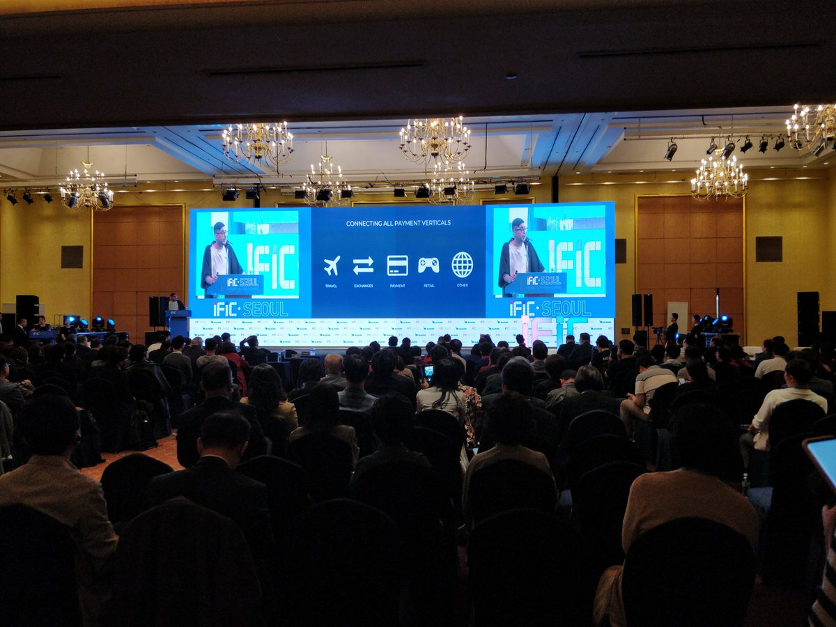 Interesting turnout at 2019 OCT SEOUL International Fintech Innovation Conference <br>http://pic.twitter.com/WHtV7zEXuZ