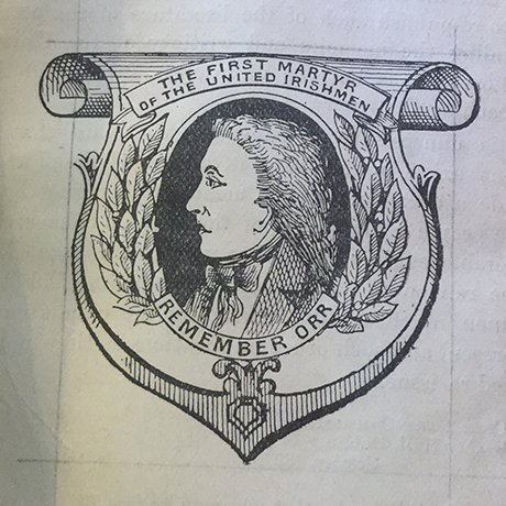"""Irish History Bitesize! on Twitter: """"#Otd 1797: Execution of William Orr  (30/1), member of United Irishmen. @pciassembly farming family. Falsely  charged with administering U.I. oath to a soldier. Buried in  #Templepatrick, Co #"""