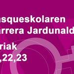Image for the Tweet beginning: #Emakume hautetsientzat @basqueskola |ren Harrera