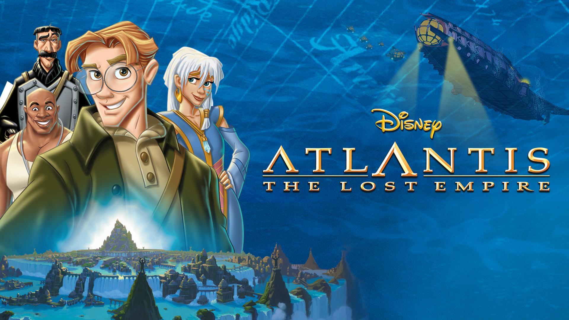 Disney On Twitter Atlantis The Lost Empire 2001