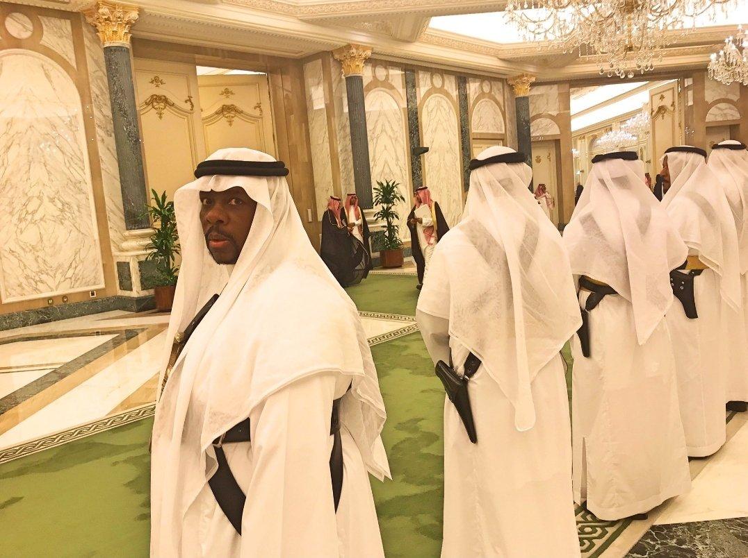 Переговоры Путина в Эр-Рияде