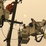 Image for the Tweet beginning: PG&E blackouts: An investing red