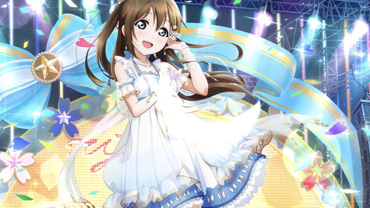 #虹ヶ咲 #桜坂しずく私なんかにはもったいないくらい、本当に素敵な子で…デビューしてから今まで、しずくちゃんがいたから頑張れた!そんな貴女にはやっぱりとびっきりの笑顔を届けたい!今日もみんな、力を貸してください!みんなで虹をみよ!