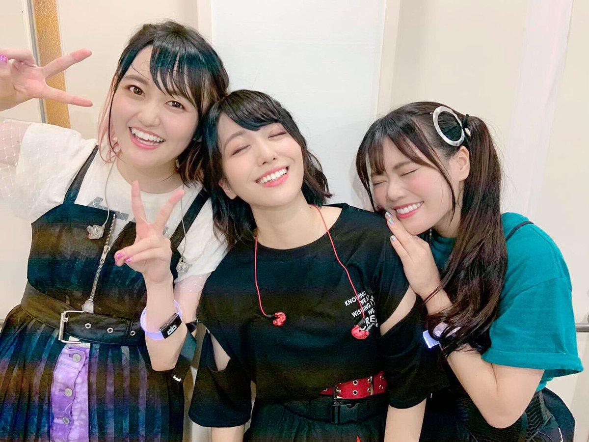 「D4DJ 2nd LIVE-Nonstop Night-」ありがとうございましたーー!!!盛り上がった〜✨💿楽しかった〜😭😭✨ライブ直後の汗だく #ピキピキ です😎#D4DJ