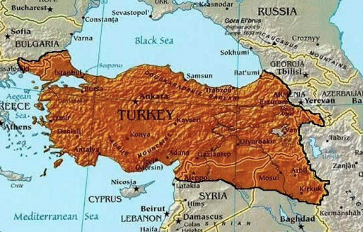 Neo-Ottoman Turkey's 'String of Pearls' - By Christina Lin    The Turkish push into northeastern Syria is just the latest evidence of Ankara's quest to reclaim former Ottoman territories   https://www. asiatimes.com/2019/10/articl e/neo-ottoman-turkeys-string-of-pearls/  … <br>http://pic.twitter.com/B8VLqoKWdP