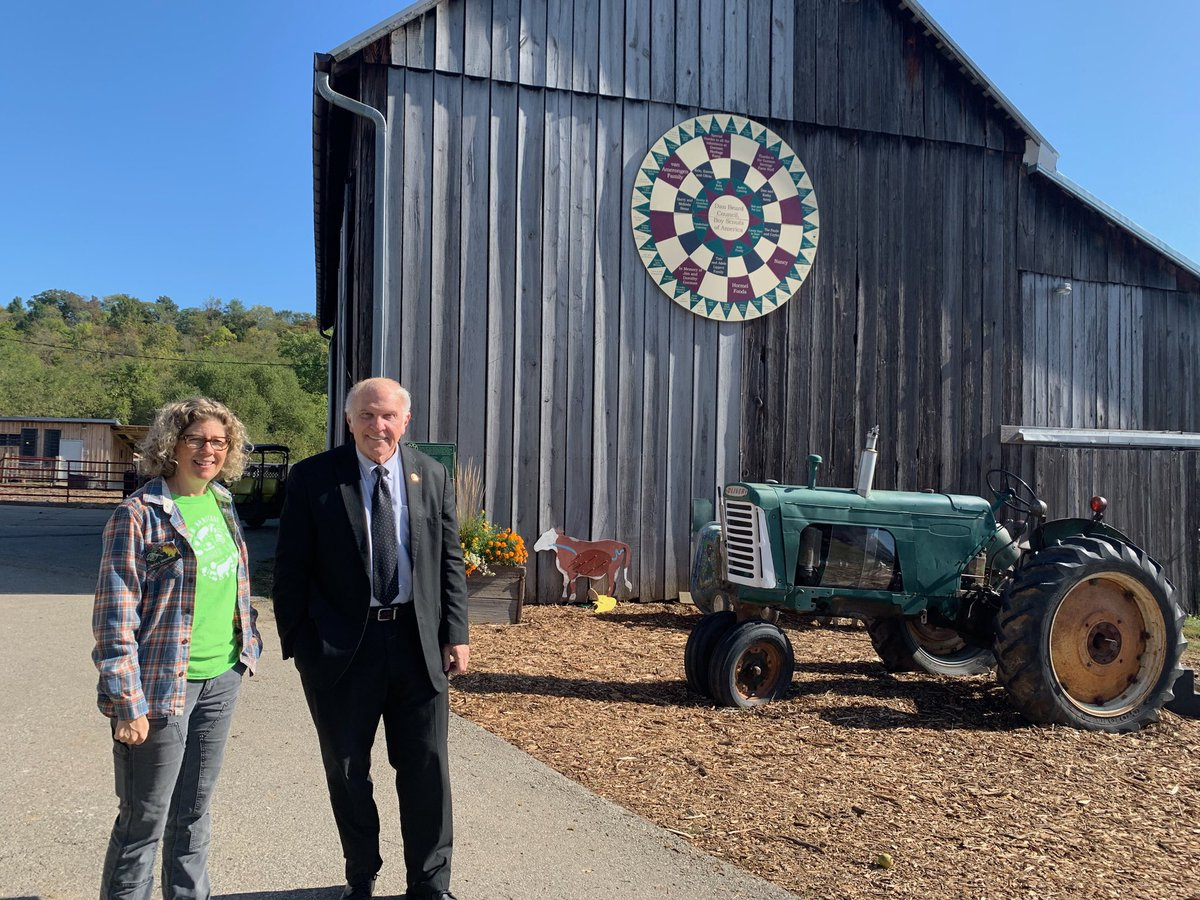 Last week I visited Gorman Heritage Farm, a beautiful 122-acre non-profit working farm in Evendale. Thank you everyone for the tour and for all of the great work you do to support local agriculture and family farming.