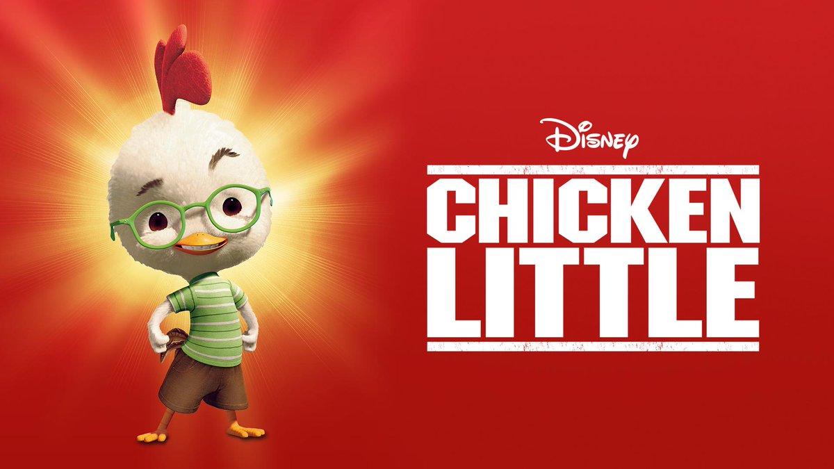 Disney On Twitter Chicken Little 2005