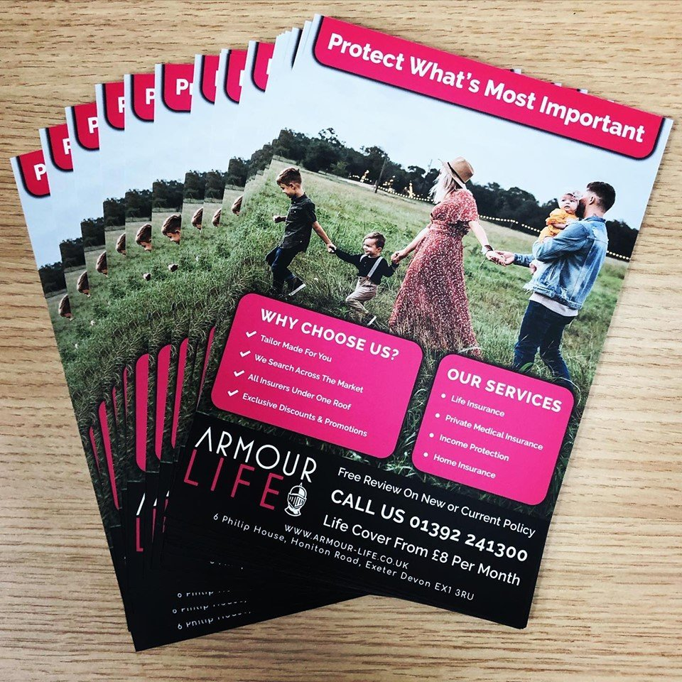 We are loving our new bright leaflets printed by @instantprintuk which just arrived. #leaflets #marketing #posters #print #flyers #exeter #devon #independentbusiness