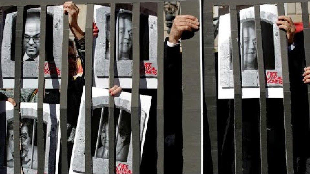 ?? Catalan Referendum trial: Carles Puigdemont reacts to sentences
