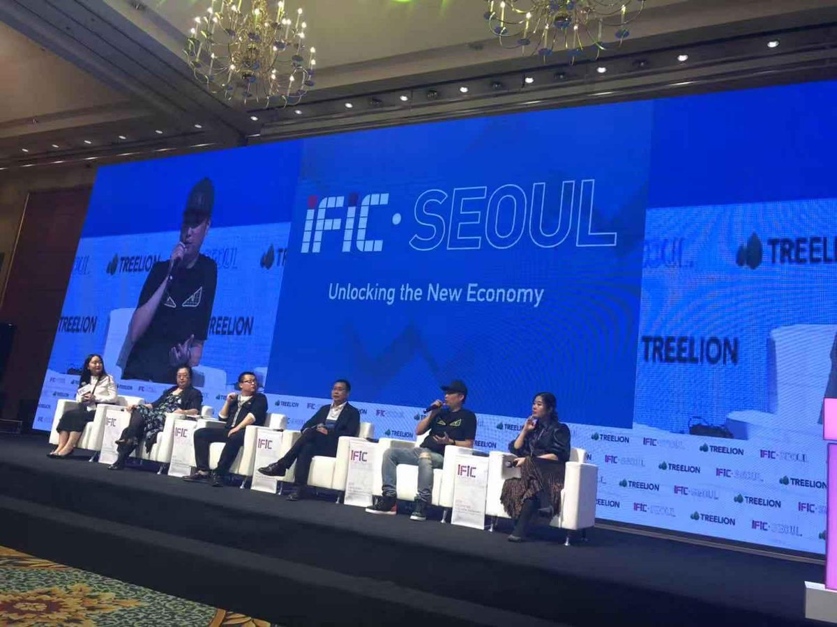 What is the New Economy? How do we create new value and opportunities?  DigiFinex CEO Ned was invited to take part in a panel discussion at the International Fintech Innovation Conference (IFIC) 2019 in #SEOUL.<br>http://pic.twitter.com/V7znRWvgGU