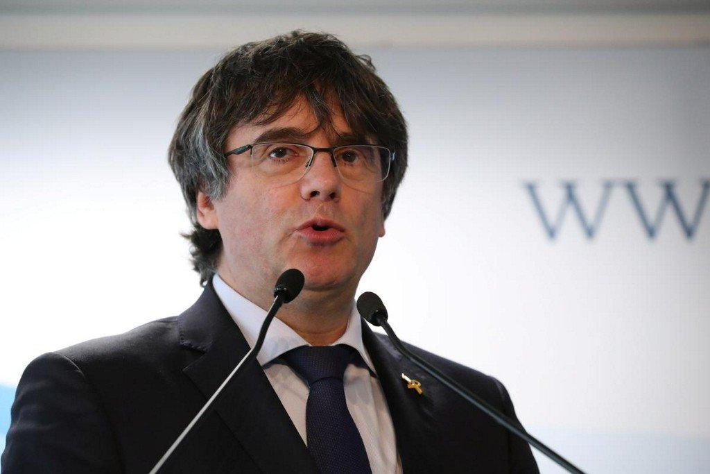 Catalonia's Puigdemont calls prison sentences for separatist leaders an 'atrocity'