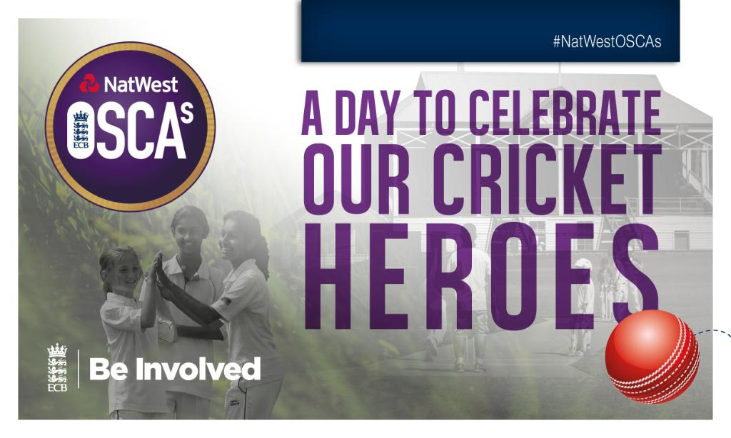 The #NatwestOSCAs are here! 🏏👏Today we celebrate the unsung heroes of the game!