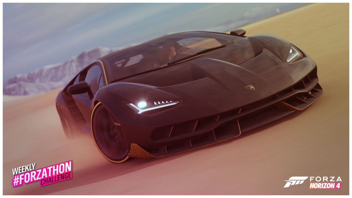 Have you started the Weekly #Forzathon Challenges? Drive your Lamborghini and reminisce back to Forza Horizon 3