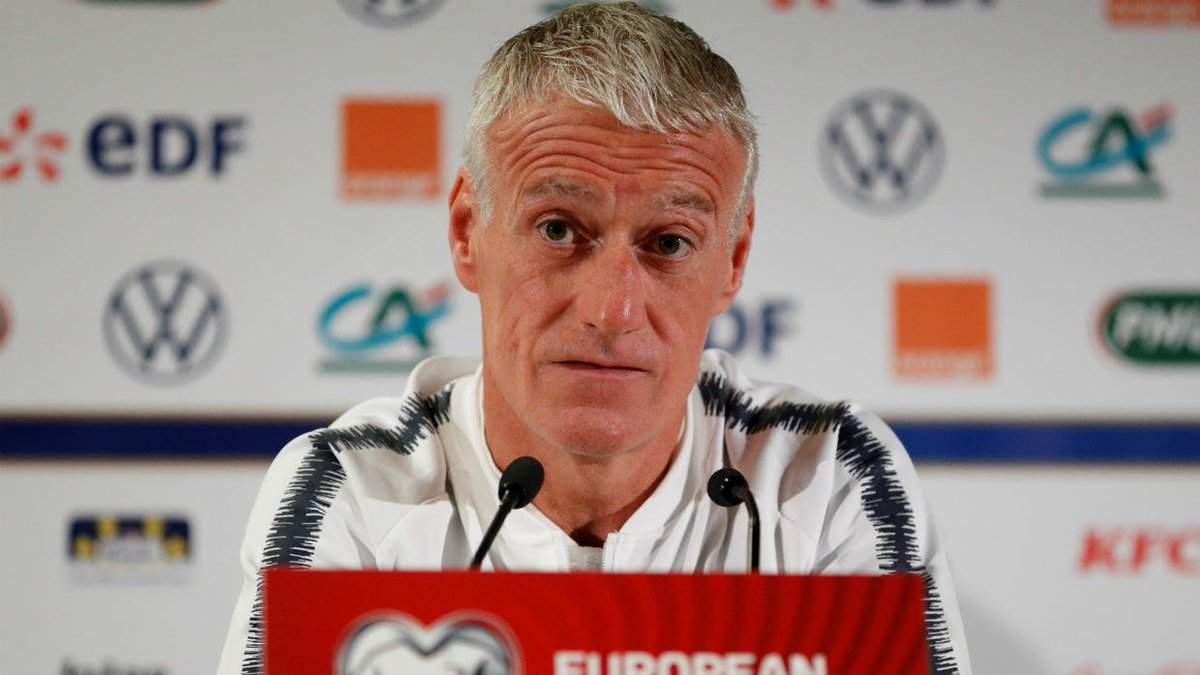 Les Bleus' coach Deschamps keen to keep politics out of France-Turkey match