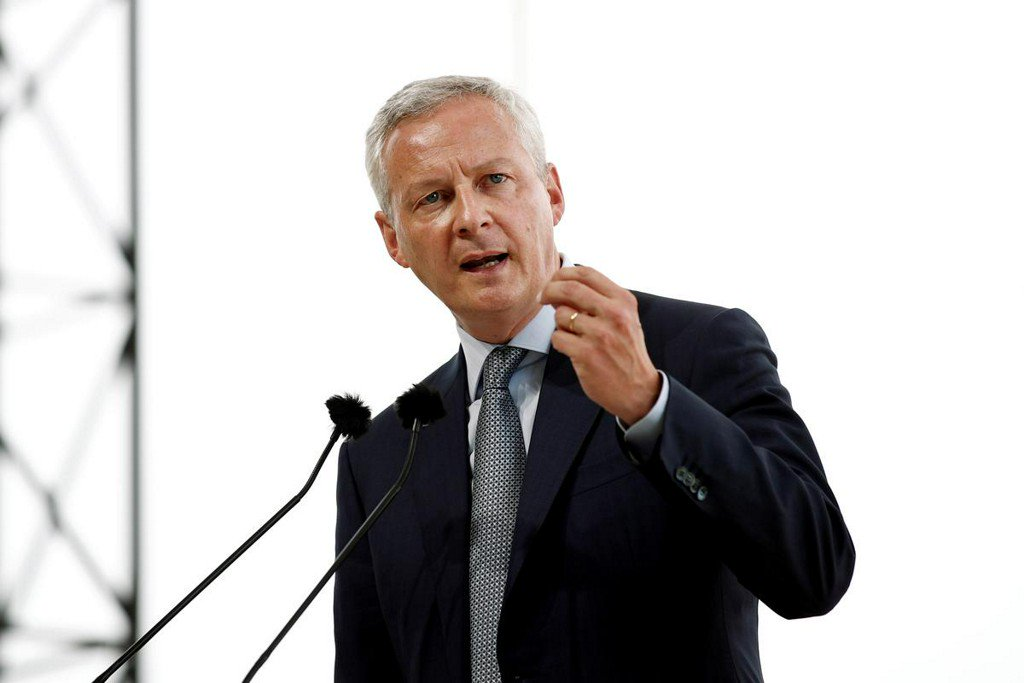 French Finance Minister: not candidate to be Macron's new choice for EU post