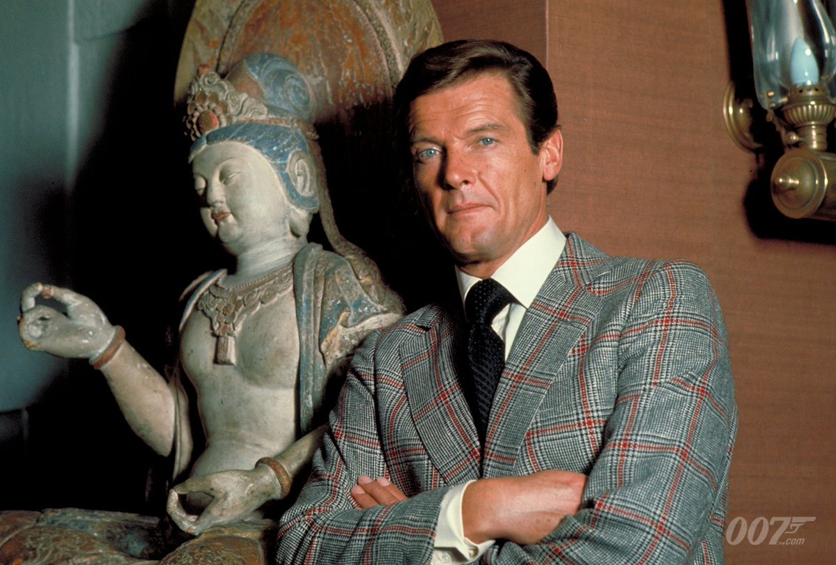 Nobody does it better. Today would have been Sir Roger Moore's 92ND birthday. Here he is on set of his second 007 film THE MAN WITH THE GOLDEN GUN (1974). He is sorely missed. Leave your memories and messages below.