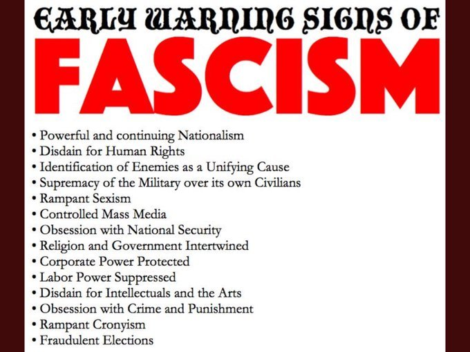 @ResisterForever @Vaw511 I add #Fascists because it includes everything you listed and so much more.