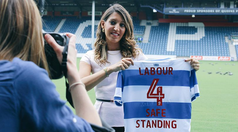 Exclusive: @UKLabour pledge to introduce safe standing at football matches before 2020/21 season   And here's why, as told by @DrRosena 👇  ➡️ https://t.co/aGgJhpmnuQ https://t.co/1m6lqzaRTO