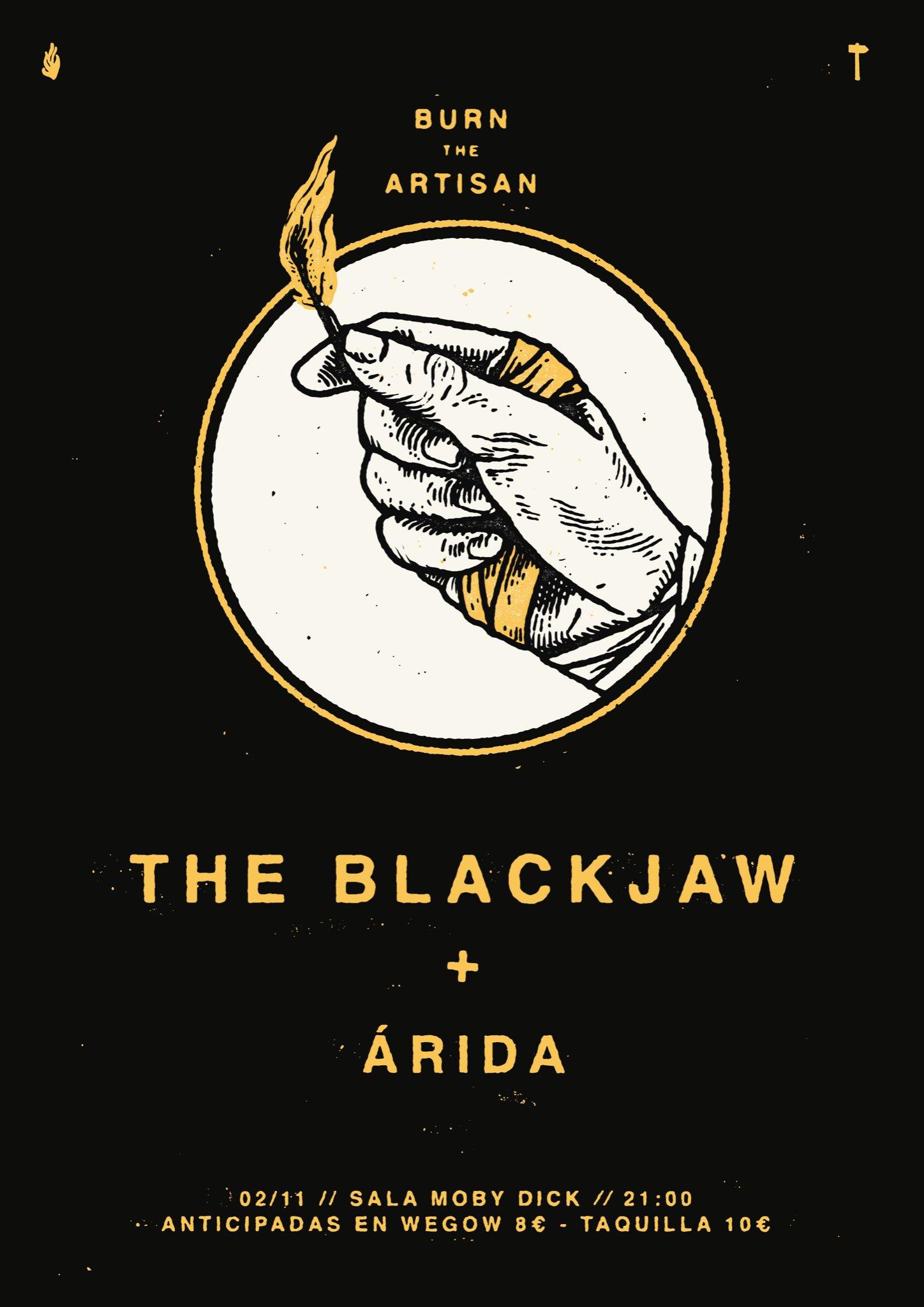 The Blackjaw - Burn The Artisan (4 de Octubre) EG1PFLiXYAYG73E?format=jpg&name=4096x4096