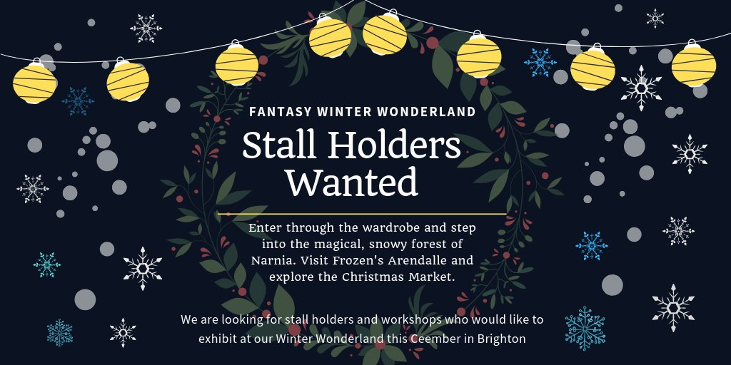 stall holders wanted essex