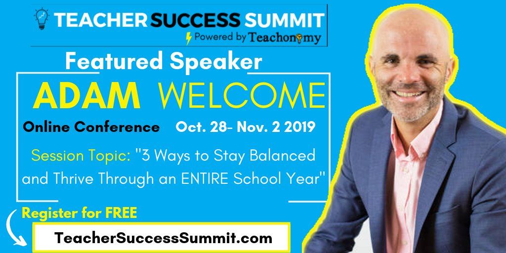 Check out the #teachersuccesssummit - so many awesome educators with so much to learn! teachersuccesssummit.com/?fbclid=IwAR3d…