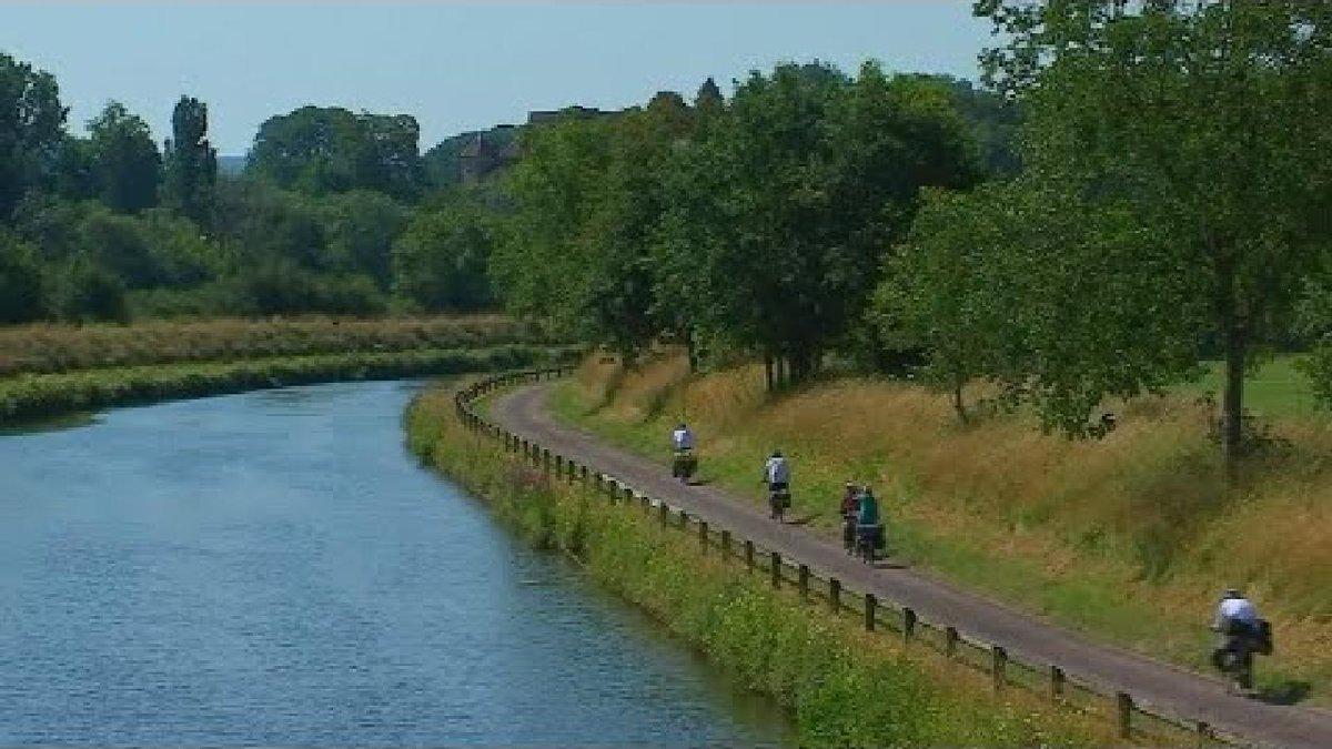 ?? Bike riding along France's Saône River