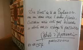 #leggodannunzio
