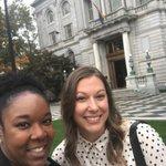 Image for the Tweet beginning: Quick selfie at Hartford City