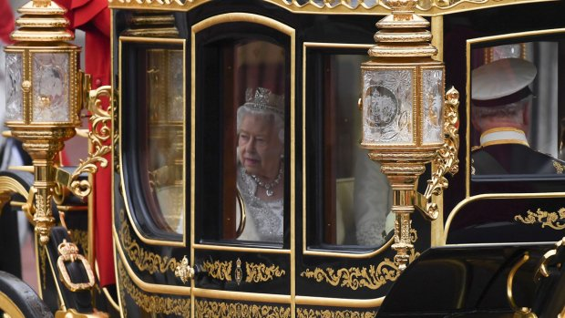 Royal Pomp: U.K. tradition on display for Parliament opening