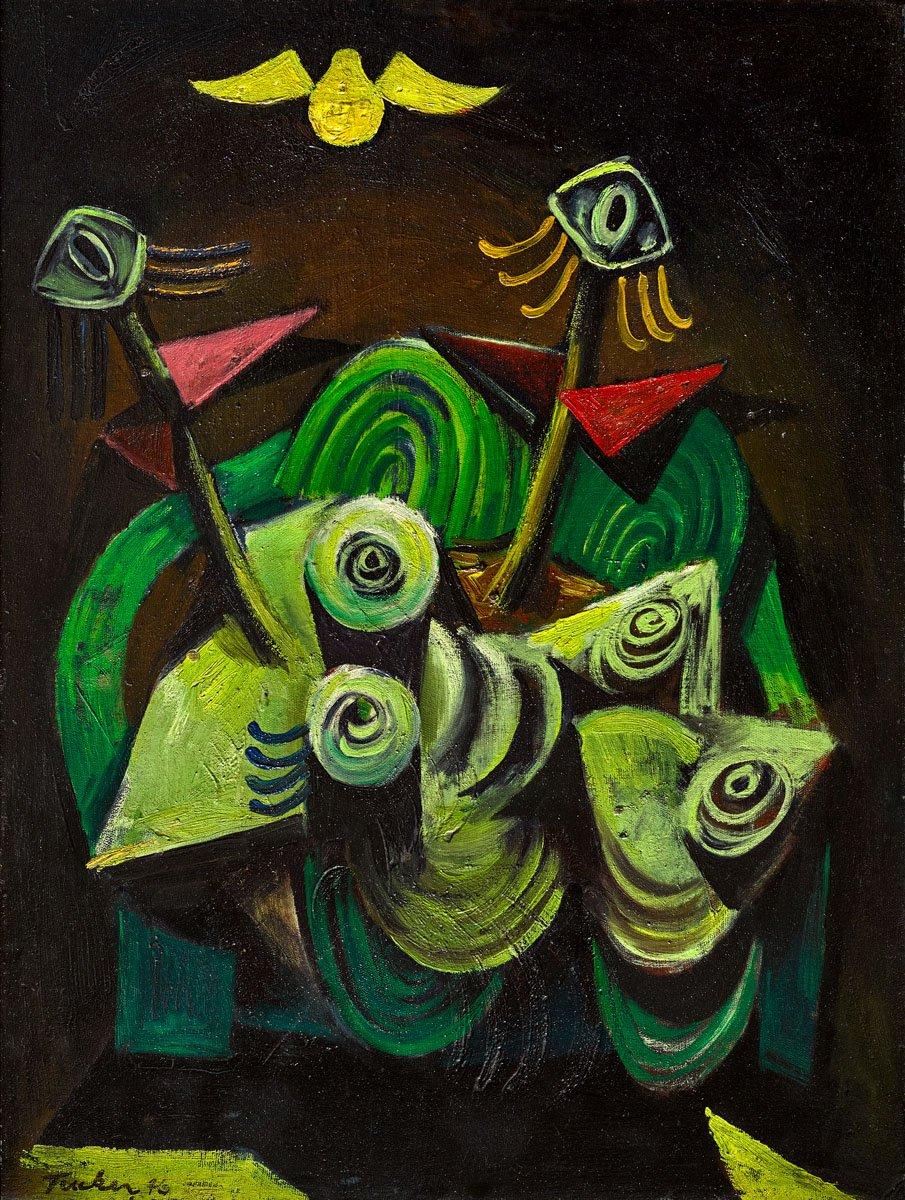 🎨 Albert Lee Tucker (Autralian artist, 1914 – 1999)